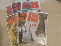 WE STAND ON GUARD #1 2 3 4 5 6 1st print complete set iMAGE BRIAN K VAUGHAN 2015