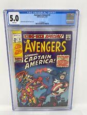 Avengers #112 Earth's Mightiest Heroes - 1973 Marvel Comics - CGC 5.0 OFW-White