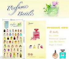 Cute Perfume Bottles Design Kawaii Diary Album Decor Stickers Scrapbook DIY