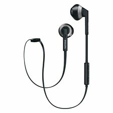 Philips SHB5250 Wireless Bluetooth Earphones Headphones Headset With Mic Black