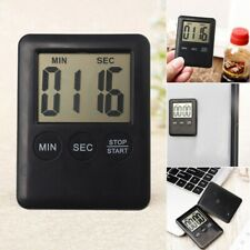 LCD Digital Kitchen Cooking Timer Count-Down Up Clock Loud Alarm Magnetic Clock