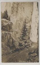 1911 Little Belt Mountains East of Helena real photo RPPC
