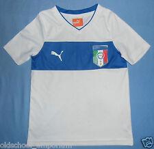Italy (Italia) / 2012-2014 Away - PUMA - JUNIOR Shirt / Jersey. Size: 5/6y, 116