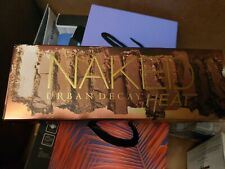 Naked Urban Decay HEAT 12 amber hued neutrals New w/ Box/Sealed GENUINE full sz