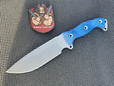 Busse Combat NFNO W/ DCBB & Blue/Black G10 Unused Survival Knife