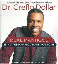REAL MANHOOD Dr. Creflo Dollar AUDIO BOOK Unabridged NEW 4 CDs CHRISTIAN Sealed