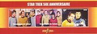 Chad - 2016 Star Trek - 3 Stamp Strip - 3B-477