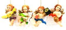 """SECOT ANGELI E CHERUBINI """"serie di 4 PUTTI ANGIOLETTI"""" cm. 7/8 peso gr. 39/43"""
