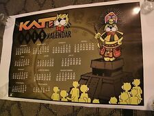 The Katt - 100.5  Okla. City Radio Station Collectors 2012 Calender 36'' X 24''