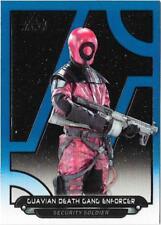2018 Topps Star Wars Galactic Files Blue TFA-46 Guavian Deth Gang Enforcer