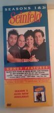"SEALED~""SEINFELD SEASON 1 & 2 DVD Set ~LONGBOX~SEALED"