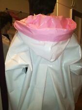 100% PVC Regencape Lack Gummimantel Raincoat Regenmantel Geschmeidig Vintage XL
