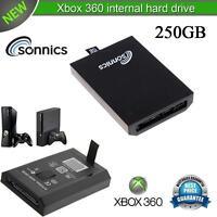 SONNICS 250GB INTERNAL HARD DRIVE FOR MICROSOFT XBOX 360 SLIM BRAND NEW