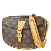 Auth LOUIS VUITTON Jeune Fille PM Shoulder Bag Monogram Leather M51227 86EZ419