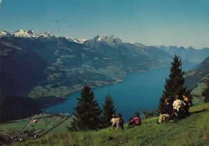 Walensee mit Camping Walenstadt ngl E2100