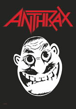 "ANTHRAX FLAGGE / FAHNE ""FACE"" POSTER FLAG"