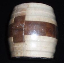 wine Barrel wood brain teaser puzzle sz med