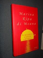 Tramonto rosso sangue M. Ripa di Meana Mondadori I ed. MI