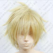 308 La storia della Arcana Famiglia Liberta Short Cosplay Wig light blond