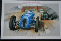 Austin Seven  1930's  Classic Motor Racing Car   Picture Card  EXC