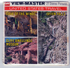 VIEW-MASTER FACTORY SEALED - A 334 A GAF - CAVE OF THE WINDS - CLIFF DWELLINGS