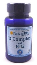 Vitamin B-Complex B-12 180 Tablets Cholesterol Stress Memory Weight Loss
