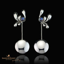 Q&D - Diana, moonstone .925 sterling silver design Earrings