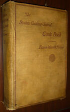 The Boston Cooking School Fannie Farmer Cookbook illustrated HC 1927