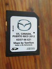 2014  Mazda CX5 CX9  6 NAVIGATION  SD CARD Map U.S Canada  FACTORY MAZDA SD CARD