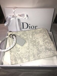 Christian Dior Kaws Toile De Jouy Ultra Rare Clutch Pouch New With Gift Box