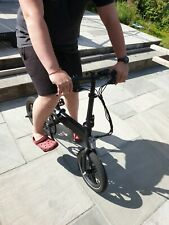 WHIRLWIND C4 Lightweight 250W Electric Foldable Pedal Assist E-Bike with Batt