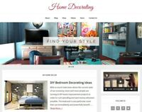 [NEW DESIGN] * HOME DECORATING *  blog website business for sale AUTO CONTENT