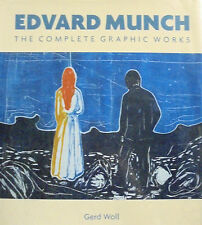 EDVARD MUNCH. The complete graphic works. Woll. Wilson. 2001. SL.B