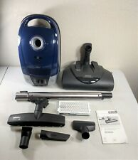 Miele Electro+ Canister Vacuum Marine Blue, Compact C2