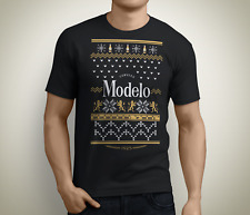 Christmas Modelo Beer Ugly Sweater T-Shirt