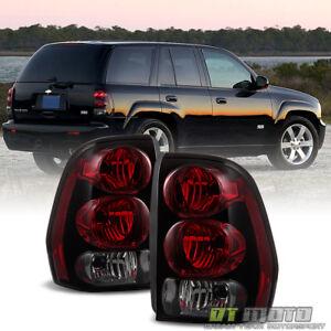 2002-2009 Chevrolet Trailblazer Rear Brake Tail Lights Lamps Left+Right 02-09