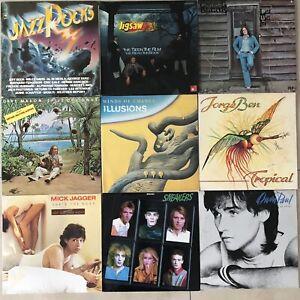 LP Sammlung 40 St. Krautrock Rock Konvolut Paket Top 70er 80er Gut bis sehr Gut