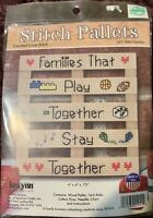 NEW! 2016 Janlynn STITCH PALLETS Counted Cross Stitch Kits YOU CHOOSE!