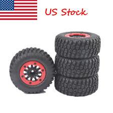 4 PCS Short Course Truck Tires&BeadLock Wheel Rim For 1:10 TRAXXAS Slash RC Car