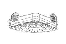 WENKO Vacuum-Loc® Eckablage Bari Regal Ablage Wandablage Aufbewahrung Duschecke