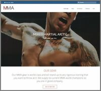 MMA|UFC GEAR Website|Upto $402.09 A SALE|FREE Domain|FREE Hosting|FREE Traffic