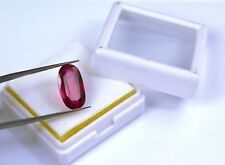 7.60 Ct Natural Oval Cut IGL Certified Pink Sapphire Loose Gemstone Best Offer