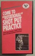 COME TO ROTATIONAL SHOT PUT PRACTICE   VHS VIDEOTAPE