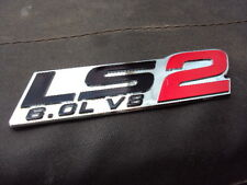 HOLDEN CHEV LS 2 , 6.0  V8 BADGE DECAL COMMODORE HSV RED , brand new