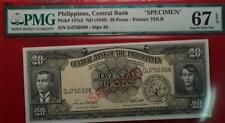 ND (1949) Central Bank Of Philippines 20 Pesos Note