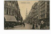 Vintage Picture Postcard Cheapside London