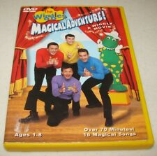 Wiggles - Magical Adventure (DVD, 2002) A Wiggly Movie Ages 1-8