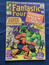 Fantastic Four #25 (1964), Marvel Silver Age, Lee/Kirby, Hulk vs Thing classic