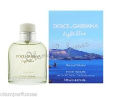 Dolce & Gabbana Light Blue Discover Vulcano Pour Homme Men Edt Spray 4.2oz