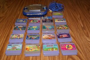Lot Of 17 VTech  V.Smile Learning System Video Games Cartridges + Console